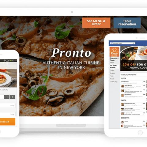 餐饮外卖下单网站系统  把餐厅开到老外的微信朋友圈